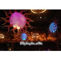 Wholesale Decorative Inflatable Sun with LED Light for Holiday and Event Decoration from china suppliers