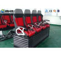 Wholesale Large Curved Screen 5D Movie Theater Dynamic Chair , Special Effect from china suppliers
