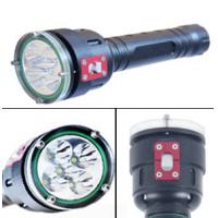 Quality 5 Led High Lumen LED Dive Torch 100m Underwater Led Diving Flashlight for sale