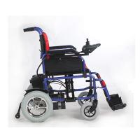 Quality 12 Inch 250W Indoor Outdoor Powered Wheelchairs 15KM - 20KM Driving Range for sale