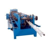 Wholesale Hydraulic Cutting 5.5KW C Purlin Cold Roll Forming Machine 10 - 12M / Min Speed from china suppliers