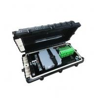 Wholesale plastic junction box ftth splice closure with plc splitter from china suppliers