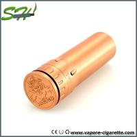 Wholesale Copper Hades Vapor E Cigarette Portable Pure Brass Fit 22650 / 26650 battery from china suppliers