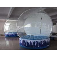 Wholesale High Quality Simple Style Inflatable Snow Globe / Bubble Tent from china suppliers