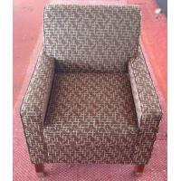 Wholesale Hotel fabric lounge chair with ottoman ,single sofa LC-0009 from china suppliers
