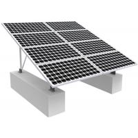 Solar Photovoltaic RV Solar Mounting Systems , 0-60 Degree Solar Panel Roof Mounting Kits