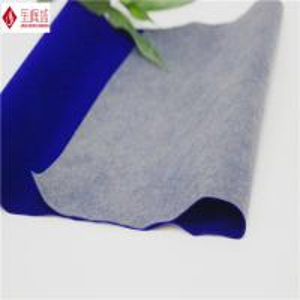 Wholesale Nylon Jewellry Box Lining Flocking Fabric , Blue Velvet Upholstery Fabric from china suppliers