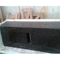 Wholesale Eco - friendly Green verde ubatuba Granite Bathroom Vanity Tops with Single Sink from china suppliers