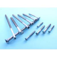 Wholesale Gray zinc plated Steel Wood Screws , stainless steel hex head wood screws DIN Standard from china suppliers