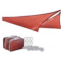 Wholesale Waterproof Triangle Sun Shade Sails , Canopy Patio Exterior Backyard Shade Sail Netting from china suppliers