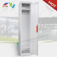 Wholesale single row one door steel locker FYD-G001,H1850XW380XD450mm,white color from china suppliers