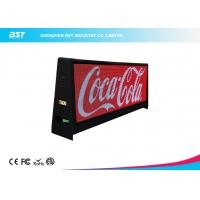 Wholesale Two Sided Super Slim Taxi Led Display With 5mm Pixel Pitch And Aluminum Shell from china suppliers