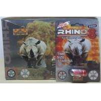 Wholesale Rhino 8 8000 3D Herbal Sex Pills for Men Erection , Male Enhancement Product from china suppliers