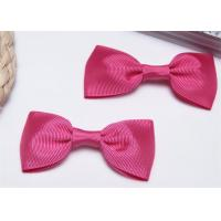 Wholesale High End Bow Tie Ribbon , Hair Elastic Bands Home Textile Purple from china suppliers