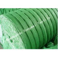 Wholesale Green HDPE Construction Barrier Fence Plastic Mesh Safety Netting Rolls Long Life from china suppliers