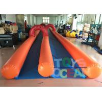 Wholesale Adults Inflatable City Slide Mini Inflatable Slip And Slide With 2 Lanes from china suppliers