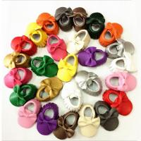 Wholesale Baby Girl Toddler Lovely cute 0-3 years soft sole leather baby shoes from china suppliers