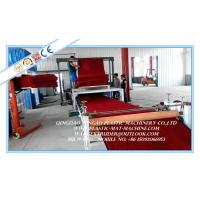 Quality PVC Coil Floor Sheet Production Line , Plastic Cushion Carpet Plant for sale
