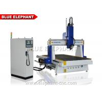 Wholesale 3d Carving 4 Axis CNC Router Machine Rotary Device Welded Steel Structure from china suppliers