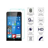 Wholesale Microsoft Lumia 650 Anti Fingerprint Screen Protector Blue 2.5 D Toughened Glass from china suppliers