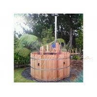 Wholesale SPA backyard cedar wood barrel hot tub Round Outdoor Jacuzzi Tub SOT - 2150 from china suppliers