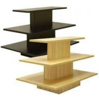 Wholesale Retail Shop portable 4 Way Wooden, MDF Display Stands units for display clothes and shoes from china suppliers