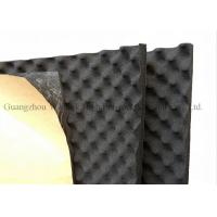 Wholesale Black Egg Crate Acoustic Foam Panels 12mm Thickness Rubber Acoustic Sound Panels from china suppliers