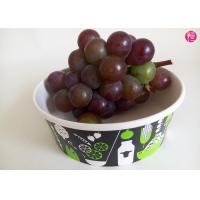 Wholesale Takeaway 34oz disposable salad bowls , Fruit Paper Bowl for Beverage from china suppliers