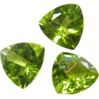 Wholesale 0.28 Ct Trilliant Natural Peridot Loose Gemstones For Jewelry  from china suppliers