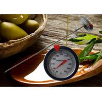 """Wholesale 52mm Instant Read Dial Candy Deep Fry Thermometer 12"""" Stainless Steel Probe from china suppliers"""