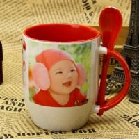 Wholesale Photo Custom A B Grade Personalized Kids Mugs , Porcelain Eco Friendly Mugs from china suppliers