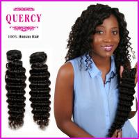 Quality 8a grade top quality Wholesale factory price human hair deep wave hair weave for sale