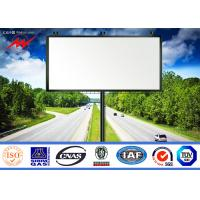 Wholesale Movable Mounted LED Screen TV Truck Outside Billboard Advertising , SGS from china suppliers