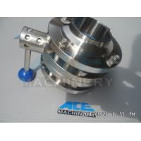 Wholesale Sanitary Stainless Steel Pulling Hanlde Butterfly Valve (ACE-DF-7T) from china suppliers