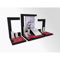 Wholesale Jewelry Showcase Display Set  Acrylic Store Window Stand for Necklace,Earring,Ring from china suppliers