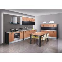 Wholesale Country Design Thermofoil Perch Kitchen Cabinets With Stainless Steel Appliances from china suppliers