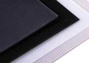 Wholesale PP Rectangular Flute Board Polypropylene Waterproof fluted Board from china suppliers