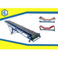 Wholesale Adjustable Lift Height Rubber Straight Belt Conveyor 800mm Belt Width Blue Color from china suppliers