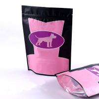 Wholesale Custom Printed Plastic Stand Up Pet Food Packaging Zip lock Pouch from china suppliers