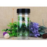 Wholesale Transparent OEM Label Pet Plastic Jars Silk Screen Single Color Printing from china suppliers