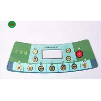 Wholesale Flexible PVC / PC / PET Gloss Tactile Membrane Switch Keypad For Instruments from china suppliers
