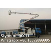Wholesale hot sale dongfeng 153 190hp 18m-22m aerial working platform truck, dongfeng RHD 4*2 20m high altitude operation truck from china suppliers