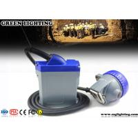 Wholesale Rechargeable Miners Headlamp 3 Watt Main Light 6600mAH Li - Ion Battery from china suppliers