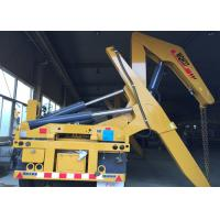 Quality 37 T Container Side Loader Crane Truck Mounted Crane With Hydraulic System for sale