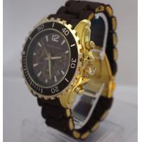 Wholesale Golden Shinny Metal Mens Designer Watches With 2 Fake Eyes , Water Resistant from china suppliers