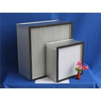 Wholesale H13 Fiberglass Paper Separator HEPA Furnace Filter For Clean Room 610 * 610 * 150 mm from china suppliers