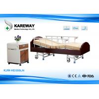 Wholesale Charity Hospital Wooden Hospital Patient Bed , Old Man Hospital Bed Easy Removable from china suppliers