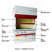 Wholesale full steel fume Hood ,full steel fuming hood,full fume cupboard from china suppliers