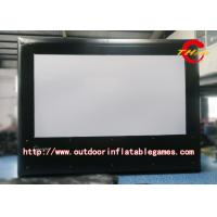 Wholesale PVC Inflatable Outdoor Projector Screen / Movie Screen With Digital Printing from china suppliers