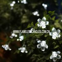 Wholesale Cool White Blossom Battery Operated String Lights Multi-color IP44 with Static Flickering from china suppliers